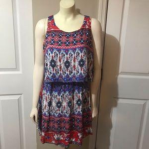 Fransesca print dress Size M